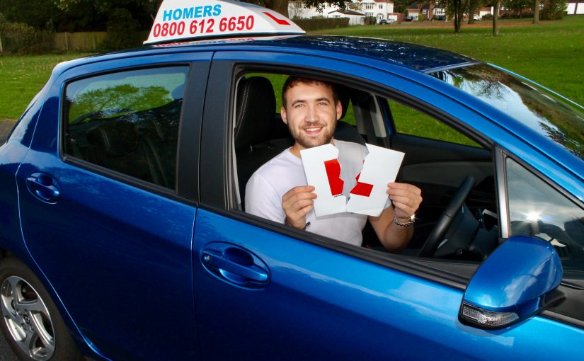 passed driving lesson