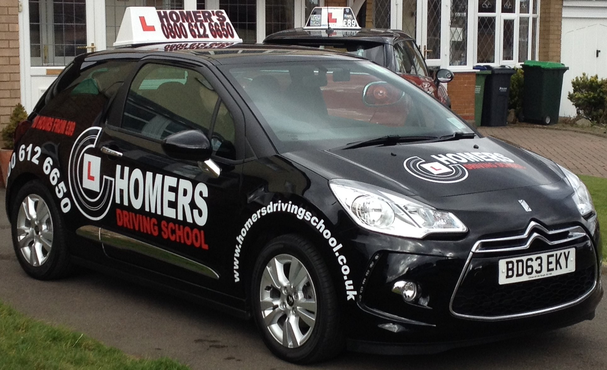 Homers Driving School - Tuition Car