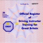driving Instructor training Oldbury